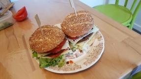 Burger au steack de soja