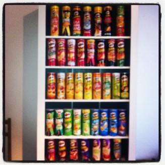 Collection de Pringles
